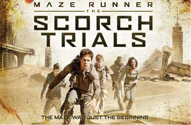 Maze Runner: The Scorch Trials Indian Blu-Ray & DVD Out Now !!!