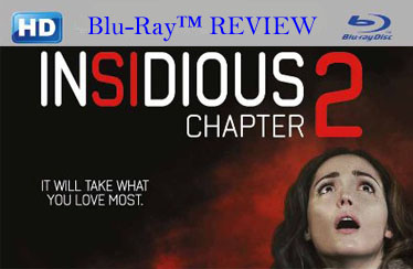 Insidious Chapter 2 (2013) Blu-Ray Review