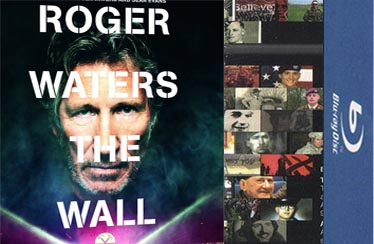 ROGER WATERS : THE WALL Indian Blu-Ray/DVD Out Now from Reliance !!!