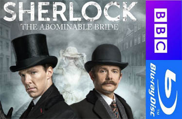 SHERLOCK:THE ABOMINABLE BRIDE Blu-Ray & DVD Out Now !!!