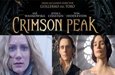 CRIMSON PEAK Indian DVD Out Now from Reliance HVG