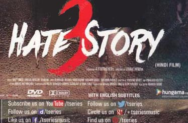 HATE STORY 3 DVD & VCD Available from T-Series