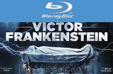 VICTOR FRANKENSTEIN Indian Blu-Ray,DVD Out Now from EXCEL