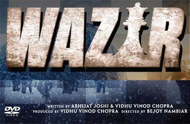 WAZIR BLU-RAY,DVD/VCD Released from RELIANCE