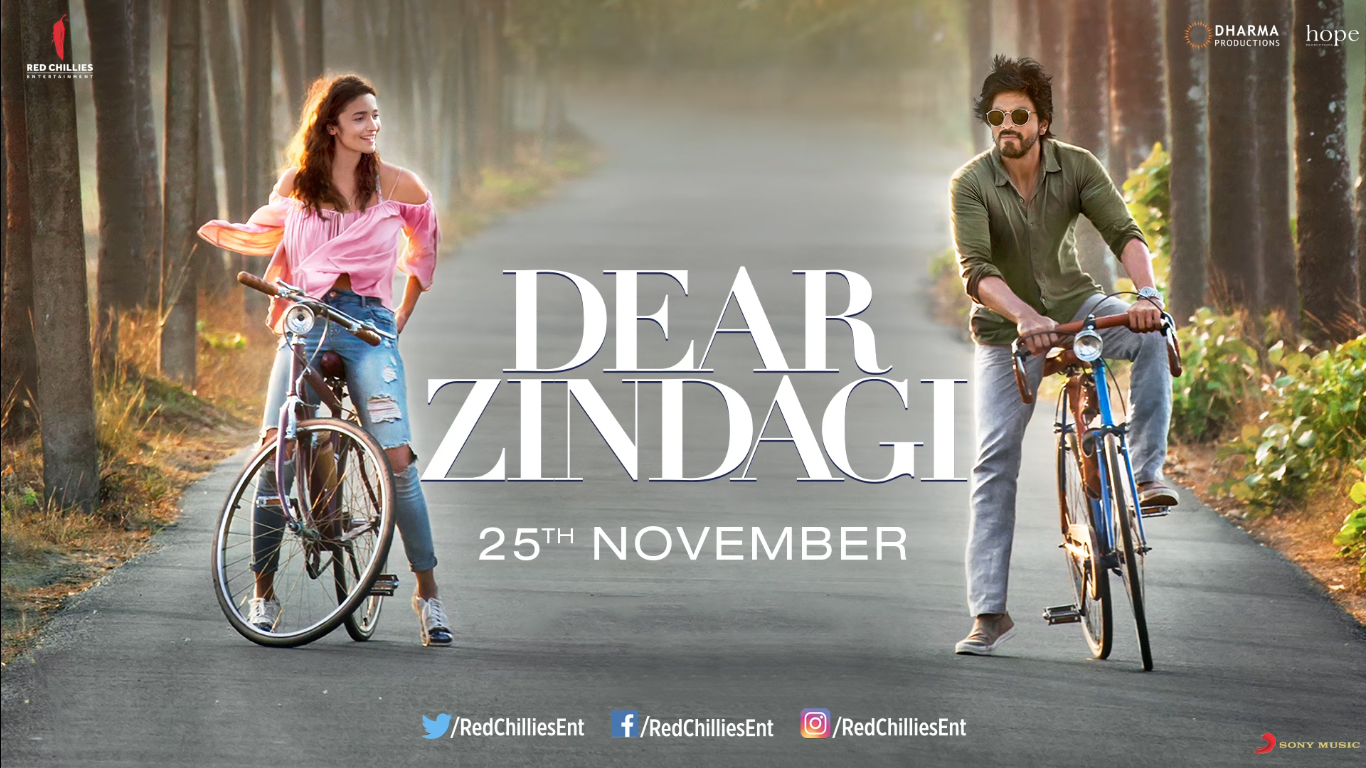 DEAR ZINDAGI DVD Released from Reliance HVG