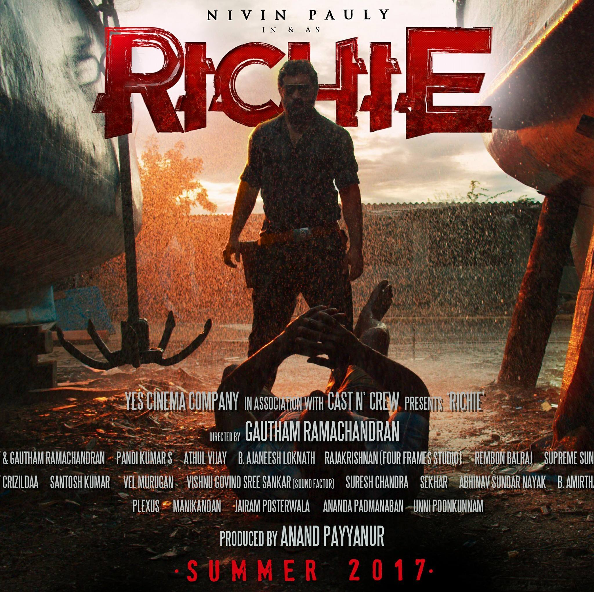 Richie Official Teaser | Nivin Pauly