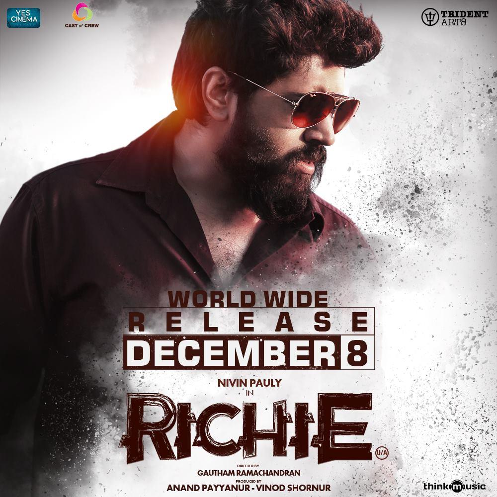 Richie Trailer ( 4K ) | Nivin Pauly, Natty, Shraddha Srinath, Lakshmi Priyaa
