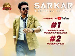 Sarkar Movie Teaser